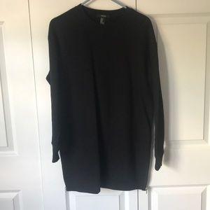 Forever 21 black sweater dress